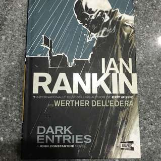 DARK ENTRIES by Ian Rankin (Hardcover)