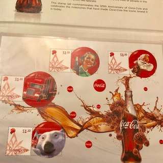 Coca-Cola Singapore stamp set