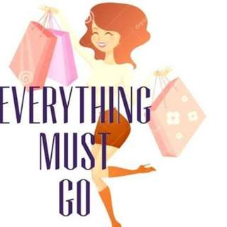 Everything must go! Prices drastically reduced on 250+ items