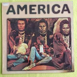 AMERICA. hattick. Vinyl record