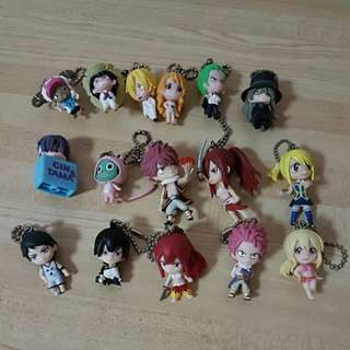 Gachapon Mini Figurines