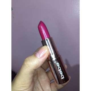 Bebe Red Violet Lipstick