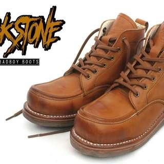 sepatu  boots original leather Rockstone Glory series