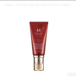 Missha Perfect Cover BB cream 20ml