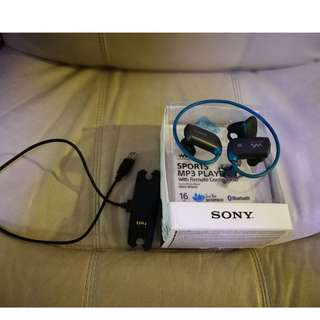 Sony 16GB WS Series MP3 Walkman® (Blue)