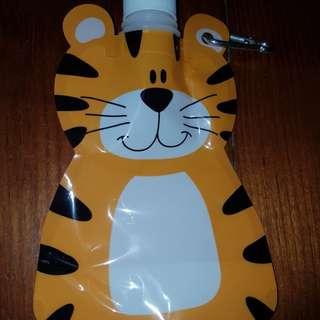 Cute tiger water bottle
