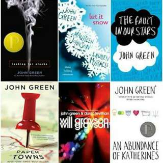 John Green Collection Ebooks