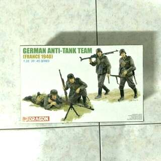 1/35 German anti tank team, France, 1940