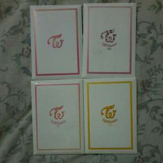 TWICE PREORDER BENEFITS CARD SETS
