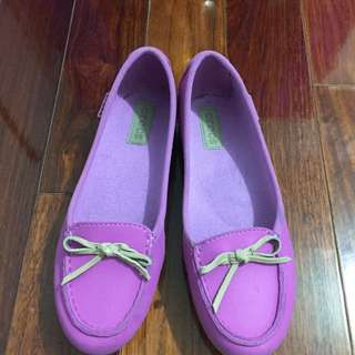 🚚 Crocs粉紫娃娃鞋