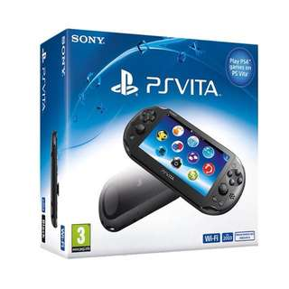 PS Vita + FIFA 14 + Call of Duty Black Ops + Leather Case