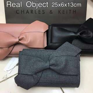 Hot price charles&keith clutch original import