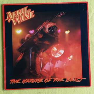 APRIL WINE. the nature of the beast. Vinyl record