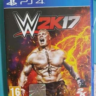 PS4 W2K17