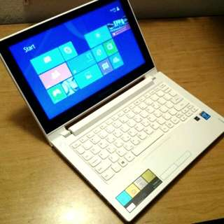 "Touch Screen, Thin, Light Weight, Laptop Lenovo 12""(i3 4GB 500GB) Great For Skype , Facebook, Study, Youtube, Internet"