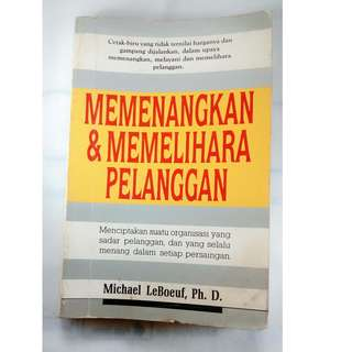buku bekas memenangkan dan memelihara pelanggan