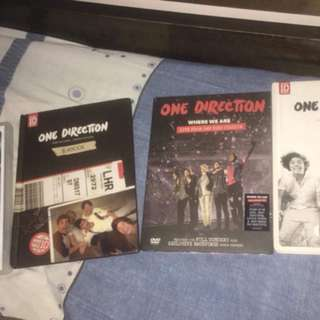 ONE DIRECTION ALBUMS + MAGAZINES