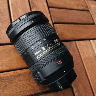 Nikon Camera Nikkor 18-200mm Lens