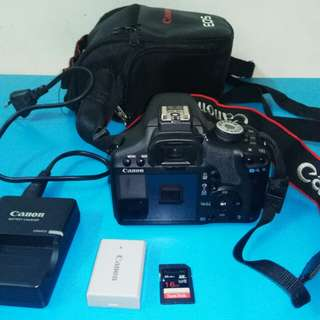 Canon EOS 500D DSLR Camera With EFS 18-55 mm Lens