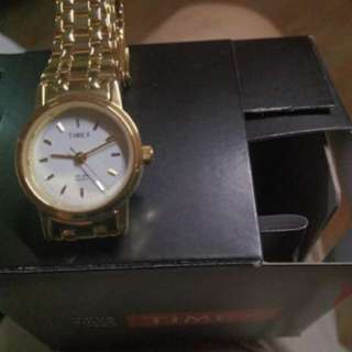 Brand New Timex Gold Watch