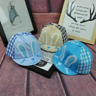 Cool Grid Pattern Baby Hats