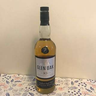 Glen Oak Highland Single Malt  Whisky 10 years 蘇格蘭單一麥芽威士忌