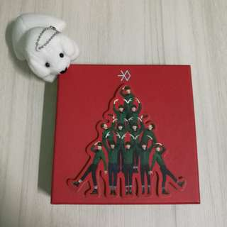 EXO Miracles In December Album (Chinese Ver)