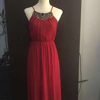 Red Long Gown or Dress