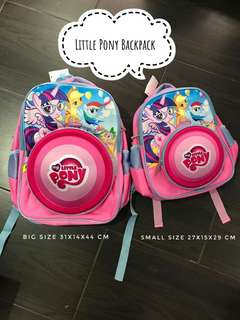 LITTLE PONY BACKPACK BIG SIZE