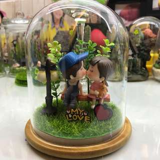 Valentines bell jar
