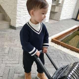 Little Boy Knitted Top