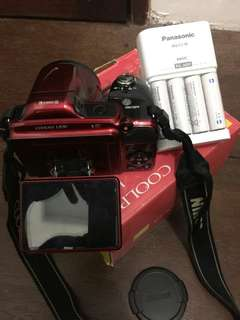 Canon Coolpix L830 16 MP 34x Zoom Maroon