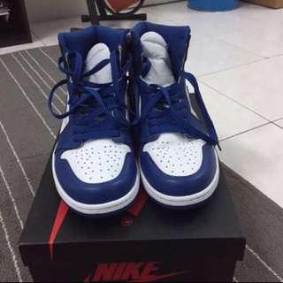 Original Nike Air Jordan 1 Storm Blue