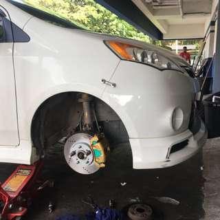 Brake Disc Perodua Alza / Luminass :