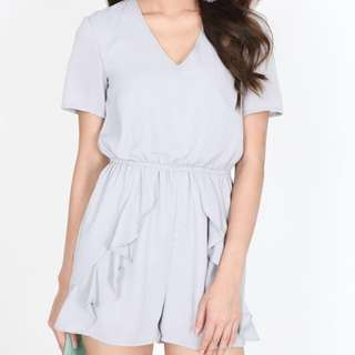 BNWT MDS Anemone Romper in Moonstone