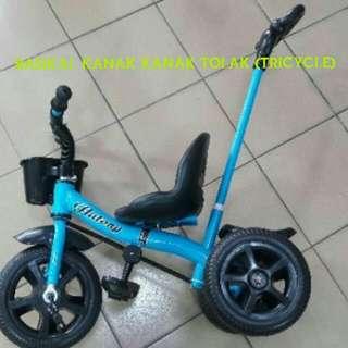 Tricycle/Basikal Kanak Tolak