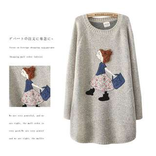 🚚 長版 針織毛衣