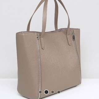 Pimkie leather look tote bag