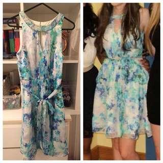 Floral blue Forever New dress