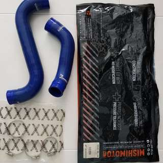 Genuine Mishimoto 01-07 Subaru STI Blue Silicone Hose Kit