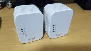 Homeplug D-link DHP-W310AV 一對