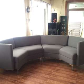 Sofa set synthetic fabric