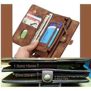 Wallet multislot plus smartphone compartment