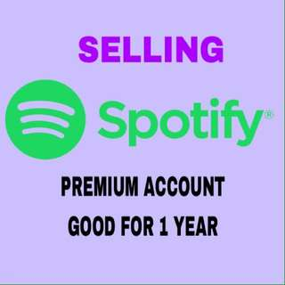 SPOTIFY PREMIUM ACCOUNT 1YEAR