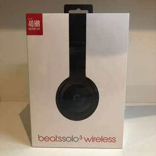 Unopened Beats Solo 3 Wireless