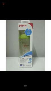Pigeon softtouch glass nursing 240ml/8oz bottle