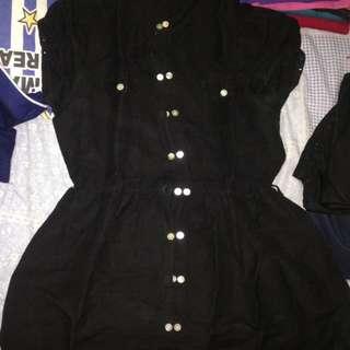 Dress hitam / atasan