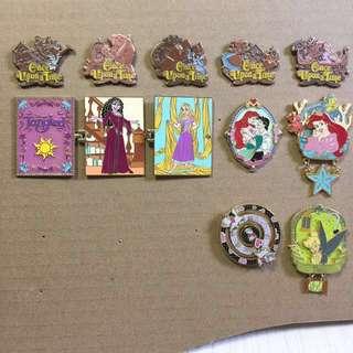 迪士尼 襟章 徽章 交換 Disney Pins