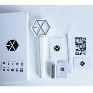Wtb Lf wishlist EXO LIGHTSTICK VER 2 Official  READY STOCK