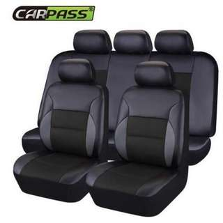 Car-pass PVC Leather Automotive Universal Car Seat Covers